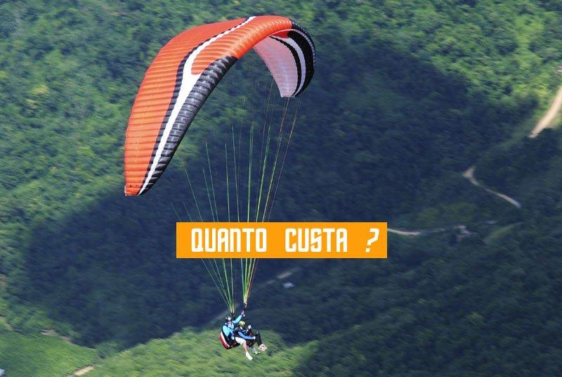 preço valor do curso de parapente paraglider voo livre paraquedismo kite surf