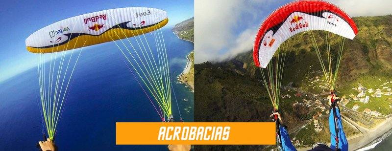 acrobacias de parapente redbull sol paraglider